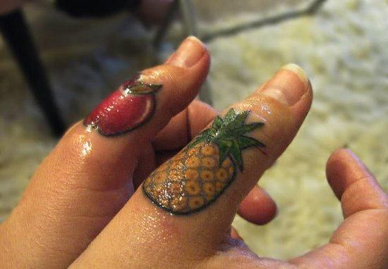fruit tattoos photo - 5