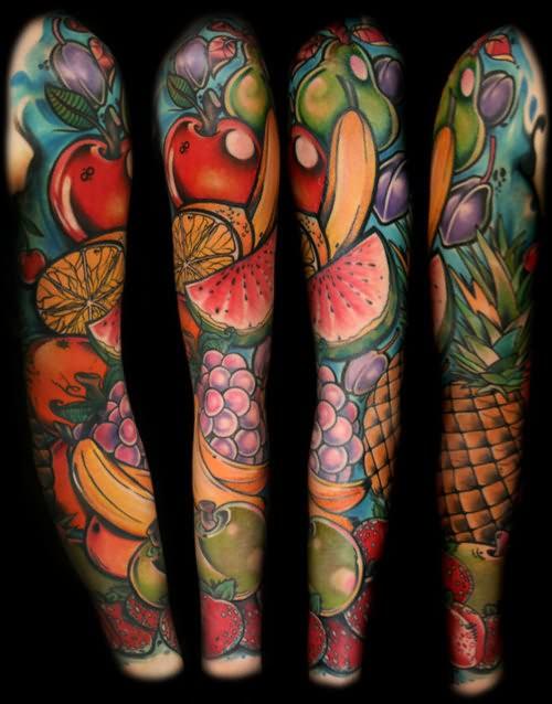 fruit tattoos photo - 6
