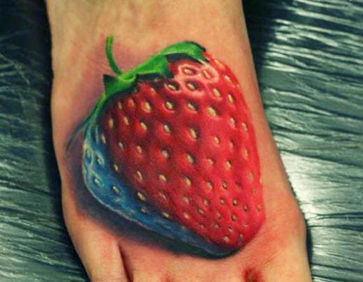 fruit tattoos photo - 7