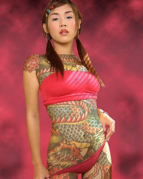 full body tattoos photo - 12