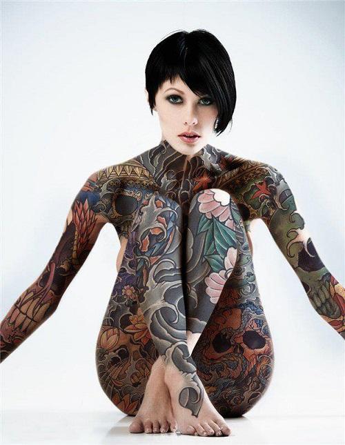 full body tattoos photo - 13