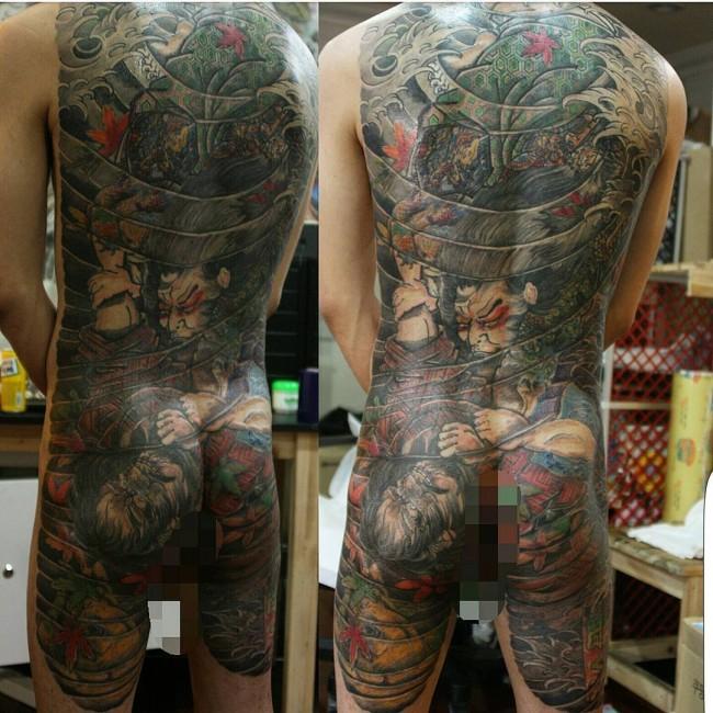 full body tattoos photo - 22
