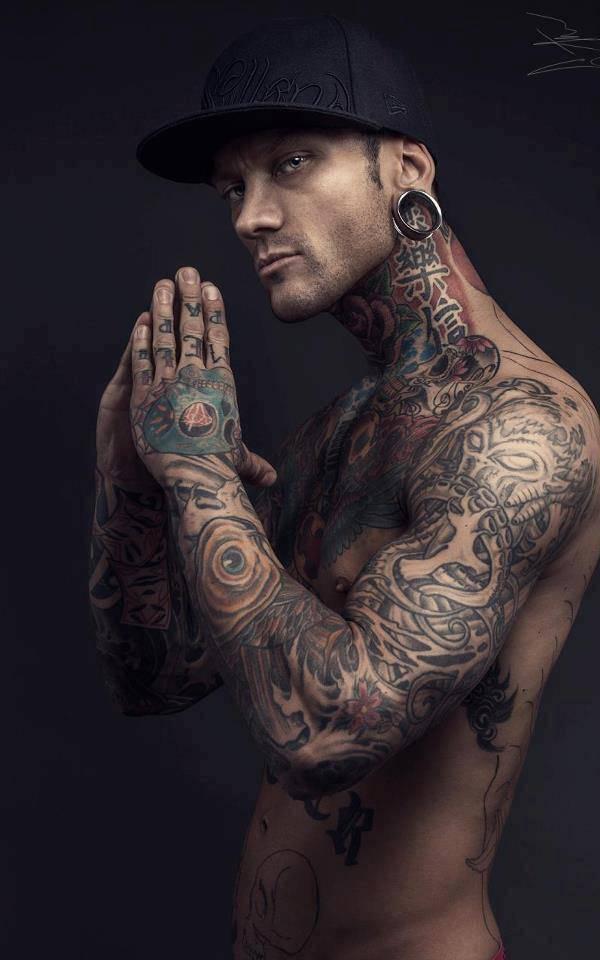full body tattoos photo - 36