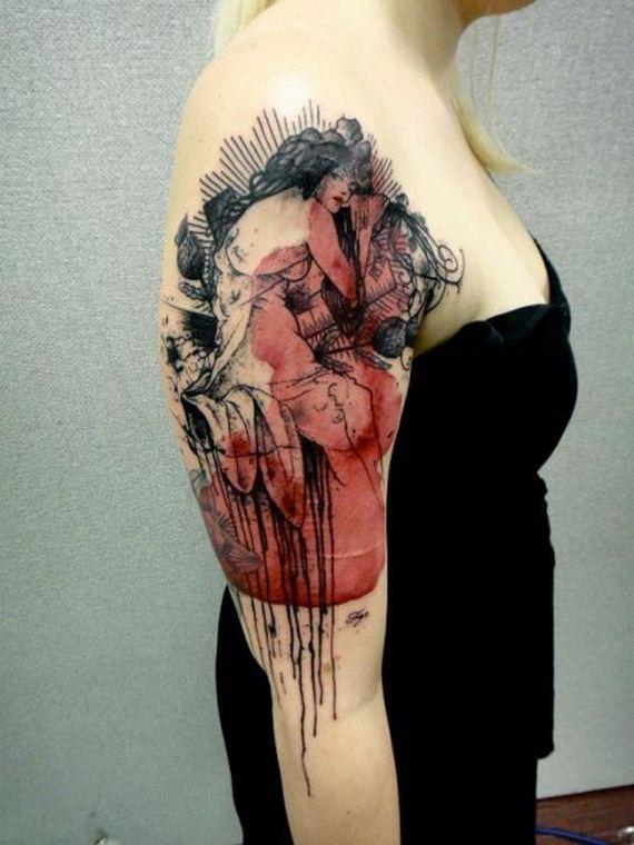 funky tattoos photo - 38