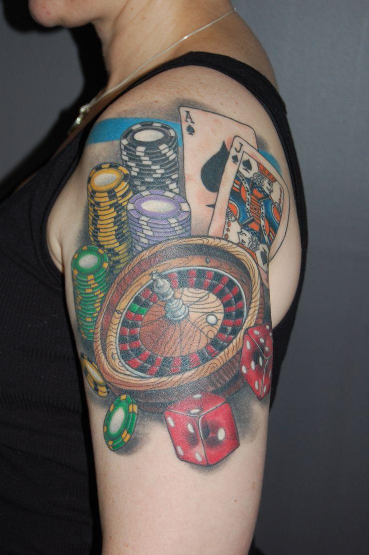 gambling tattoos photo - 10
