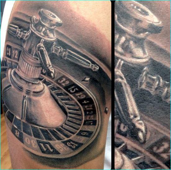 gambling tattoos photo - 11