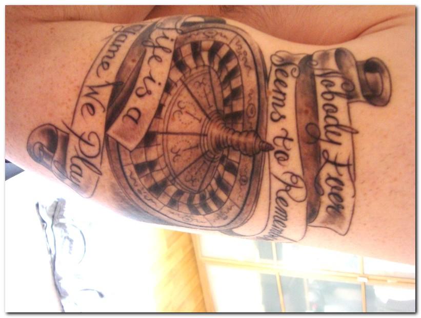 gambling tattoos photo - 13