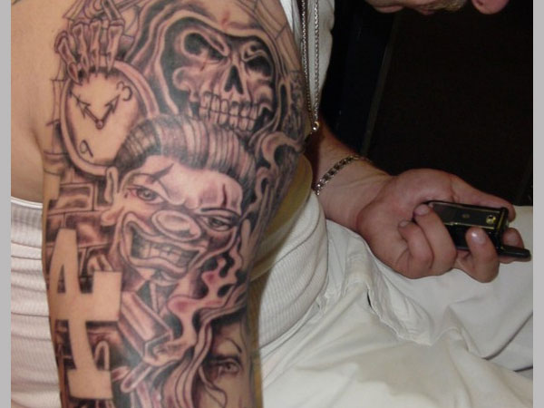 gangsta tattoos photo - 13