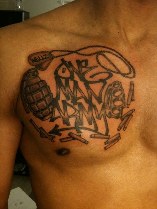 gangsta tattoos photo - 15