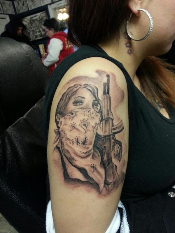 gangsta tattoos photo - 17