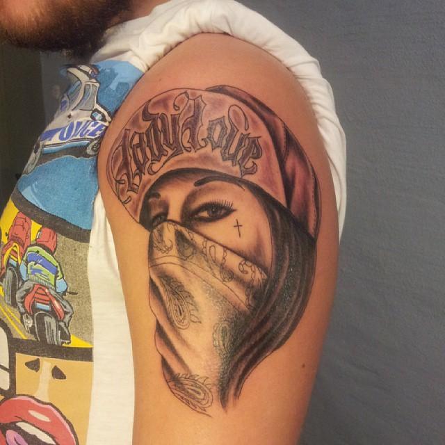 gangsta tattoos photo - 22
