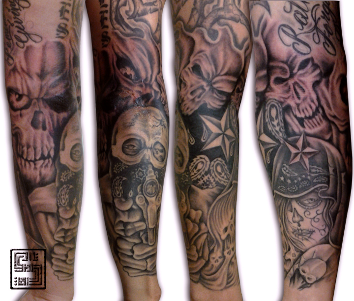 gangsta tattoos photo - 30