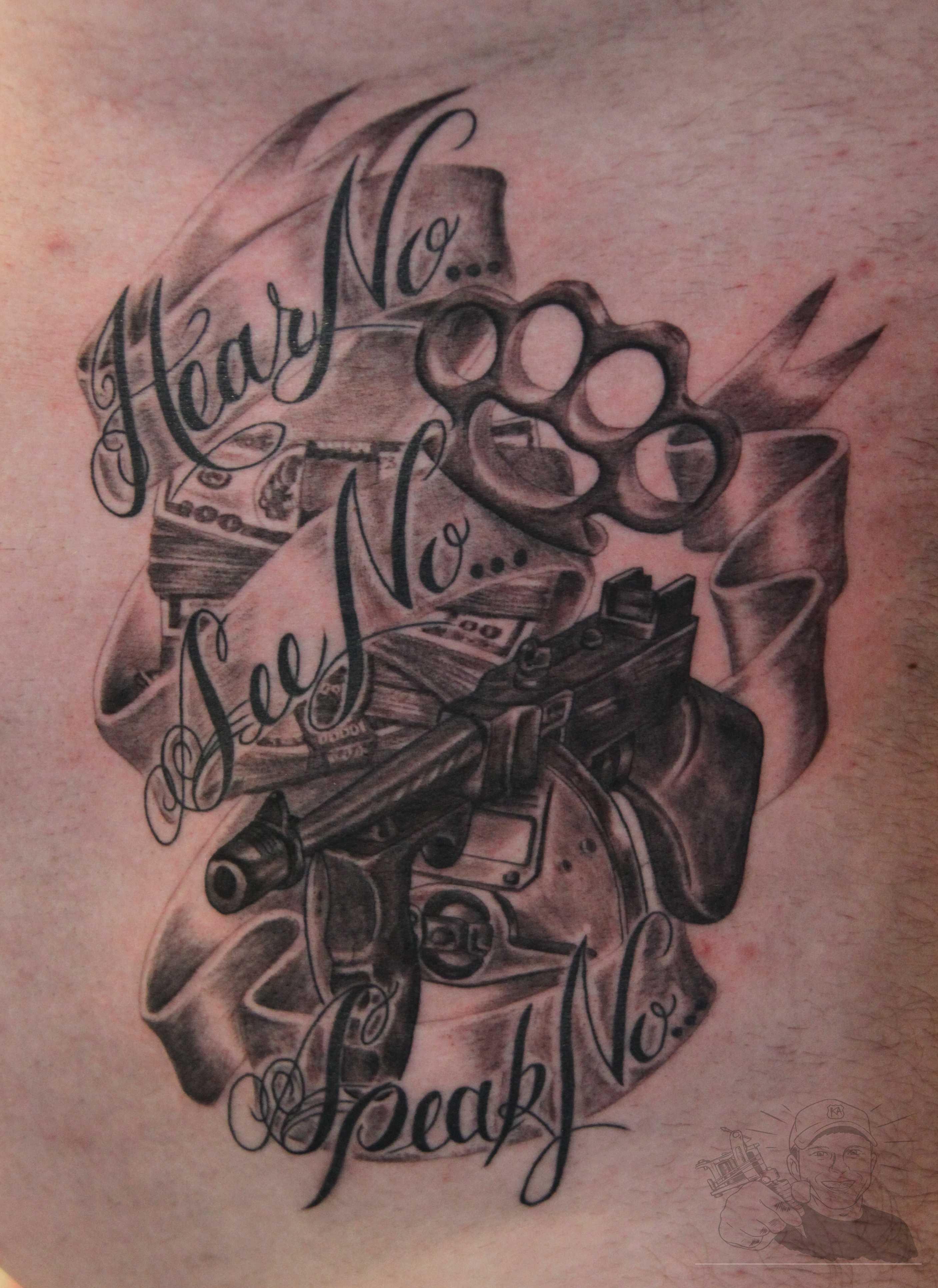 gangsta tattoos photo - 33