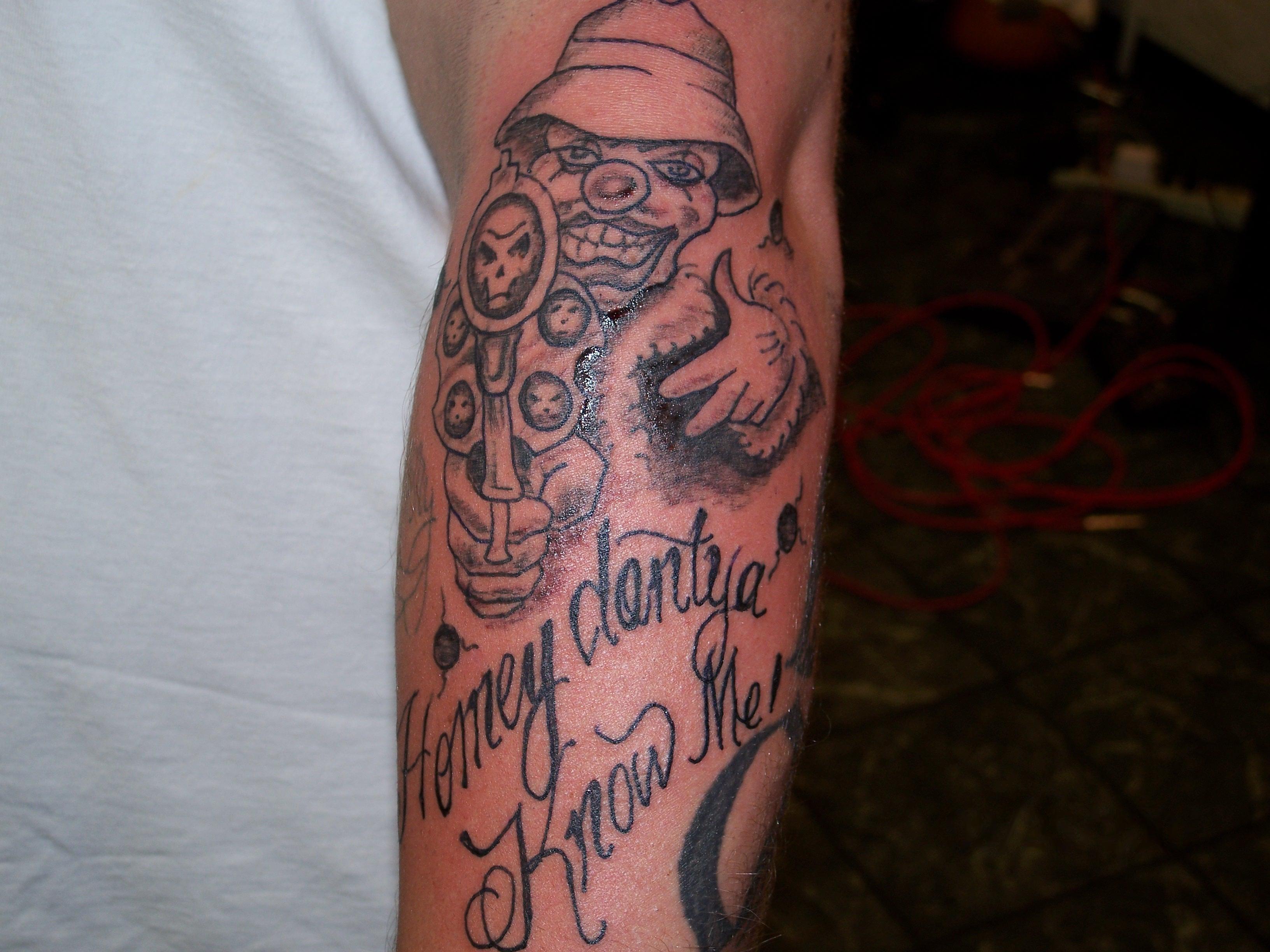 gangsta tattoos photo - 35