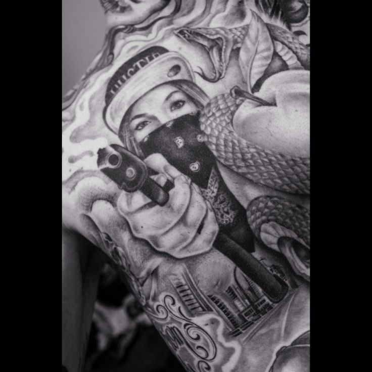 gangsta tattoos photo - 36