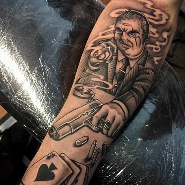 gangsta tattoos photo - 6