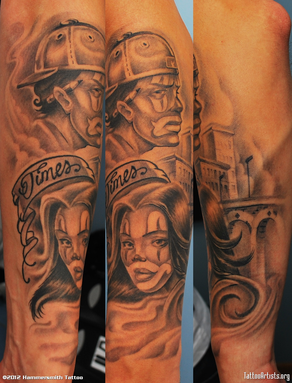 gangsta tattoos photo - 8