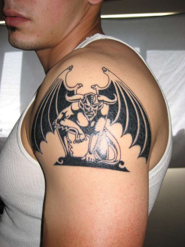 gargoyle tattoos photo - 10