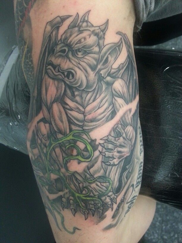 gargoyle tattoos photo - 12