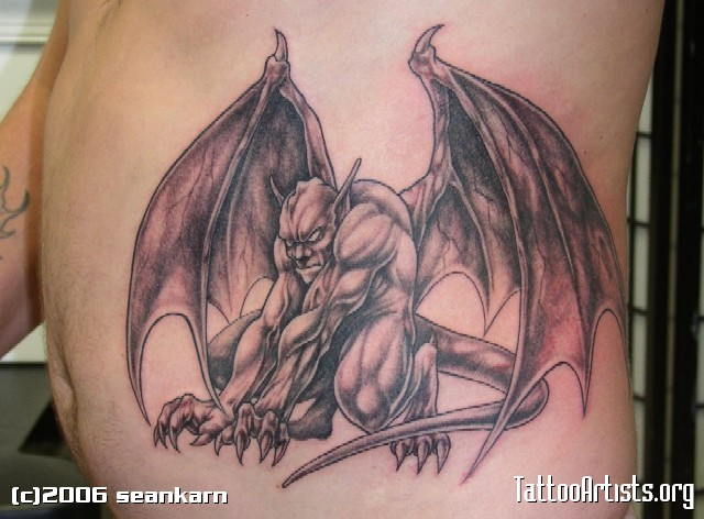 gargoyle tattoos photo - 14