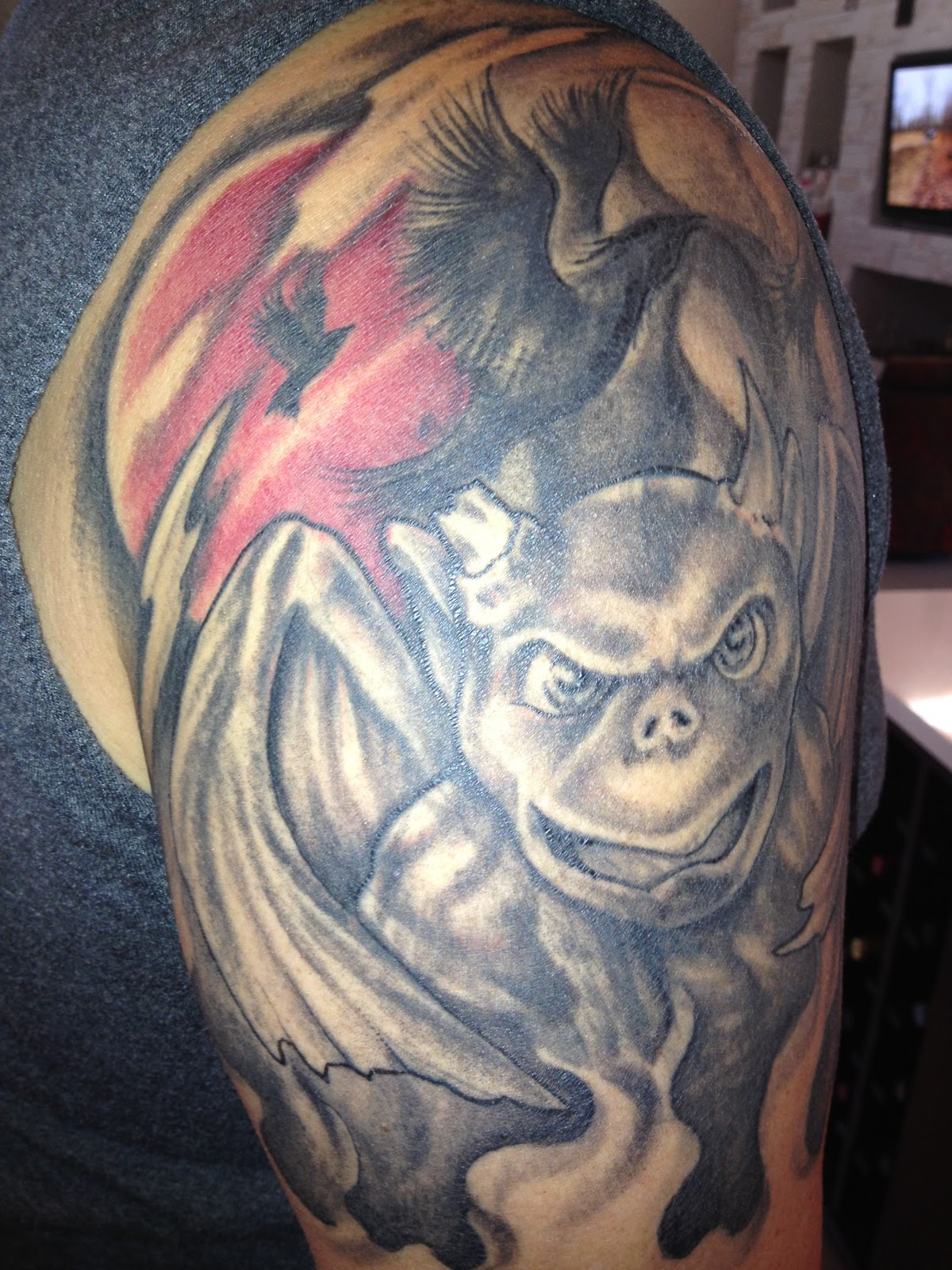 gargoyle tattoos photo - 16