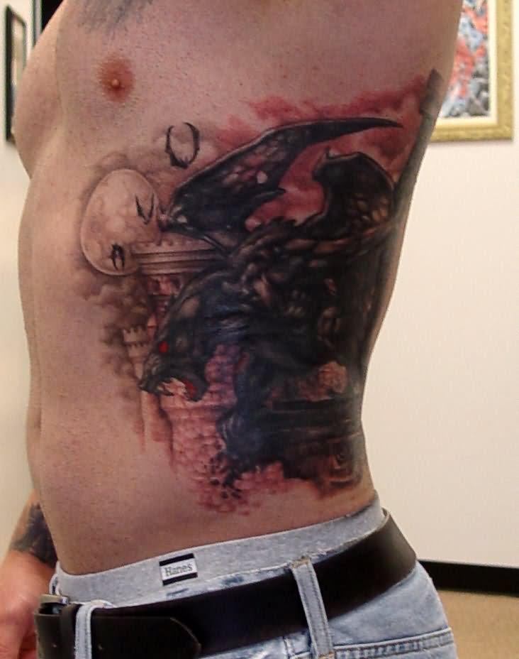 gargoyle tattoos photo - 17