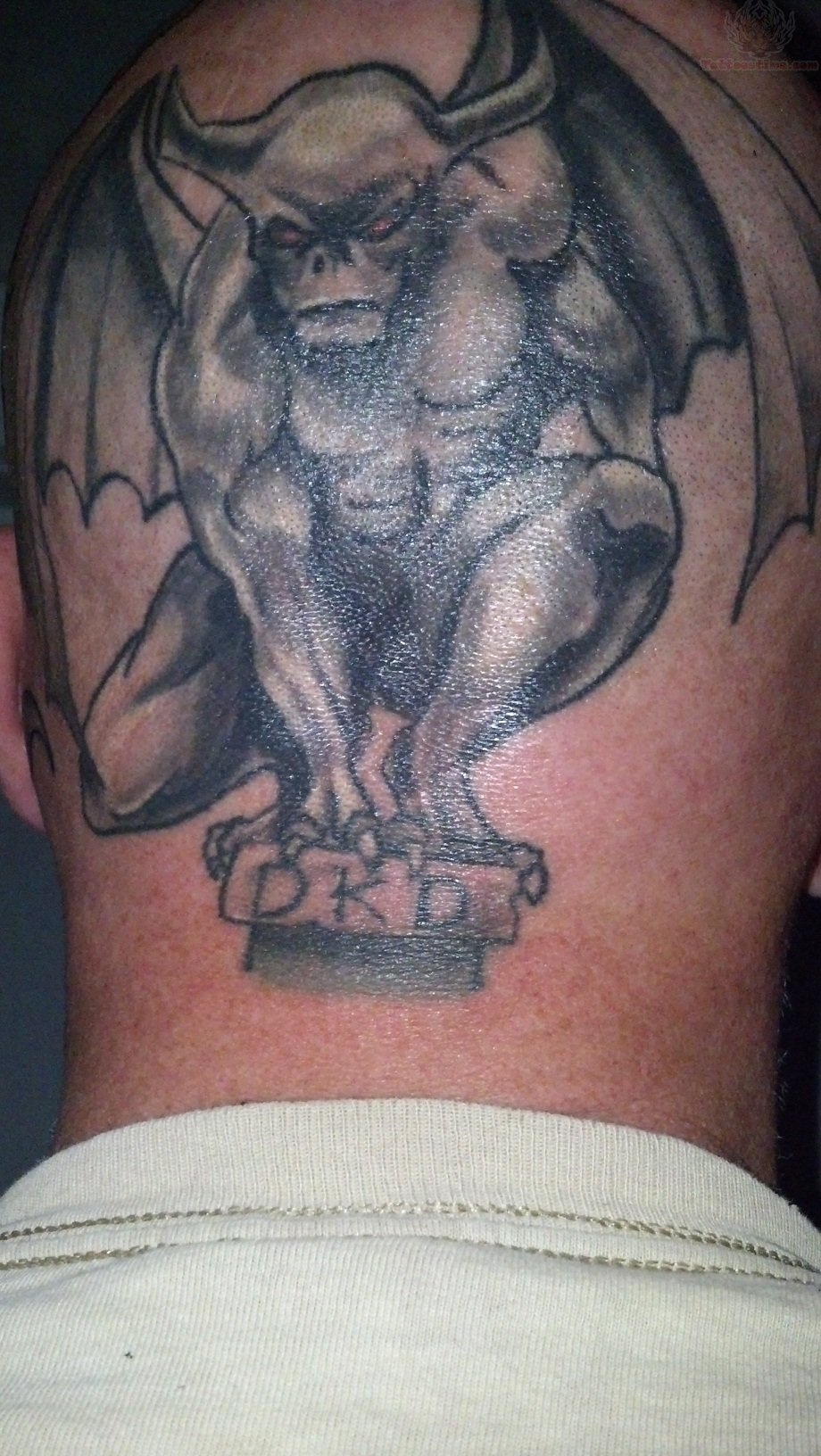 gargoyle tattoos photo - 19