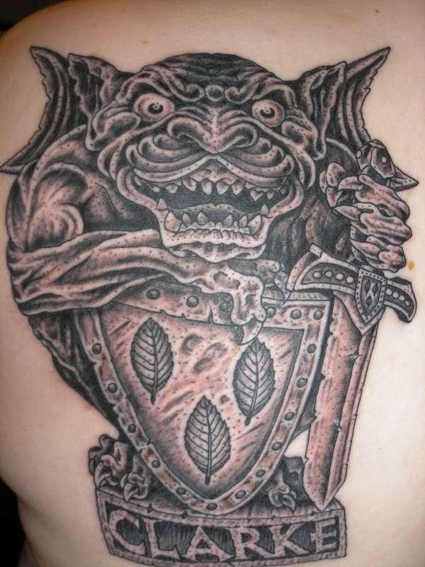 gargoyle tattoos photo - 20