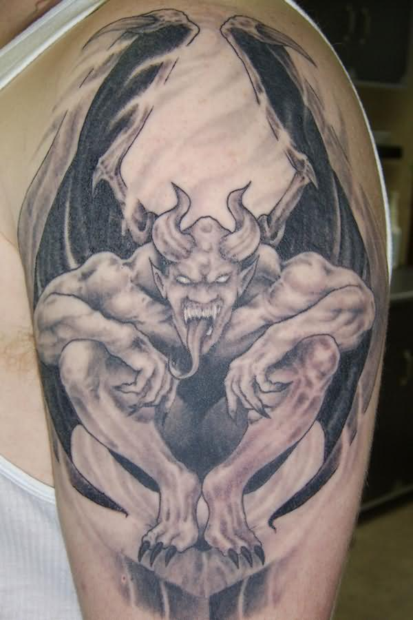 gargoyle tattoos photo - 4