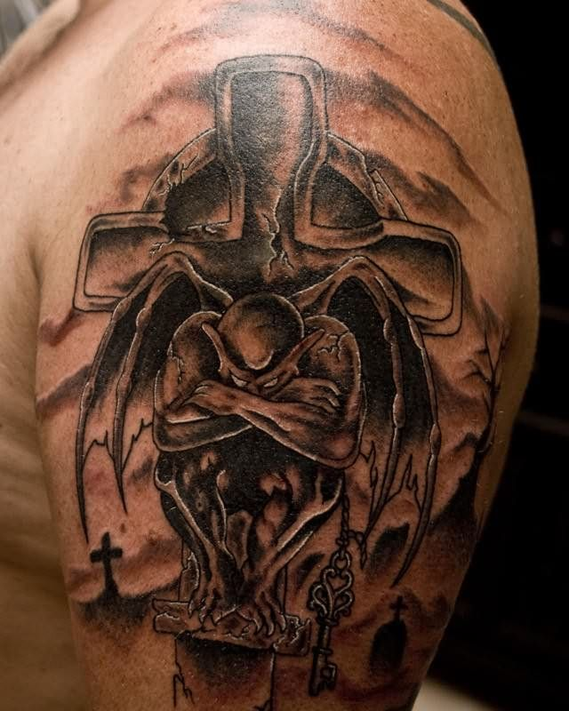 gargoyle tattoos photo - 6