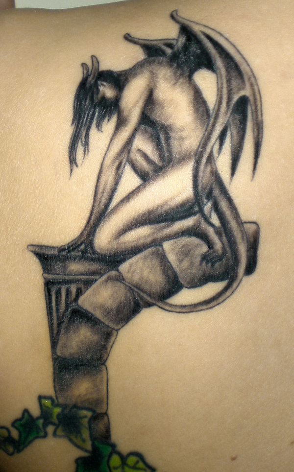 gargoyle tattoos photo - 8