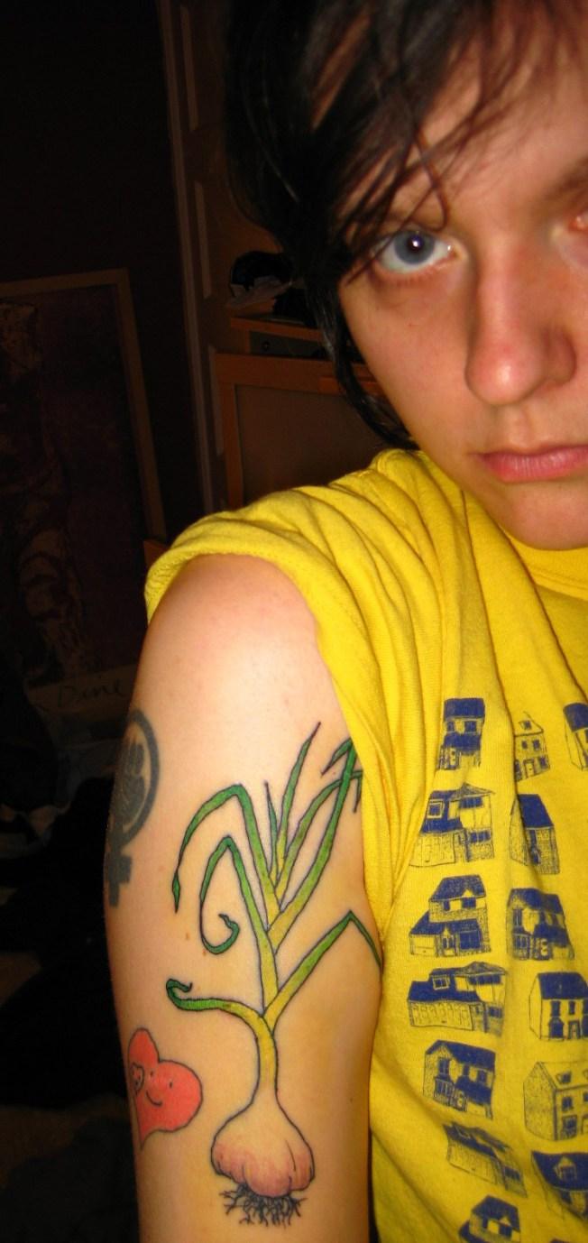 garlic tattoos photo - 15