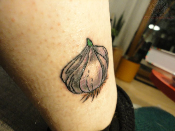 garlic tattoos photo - 3