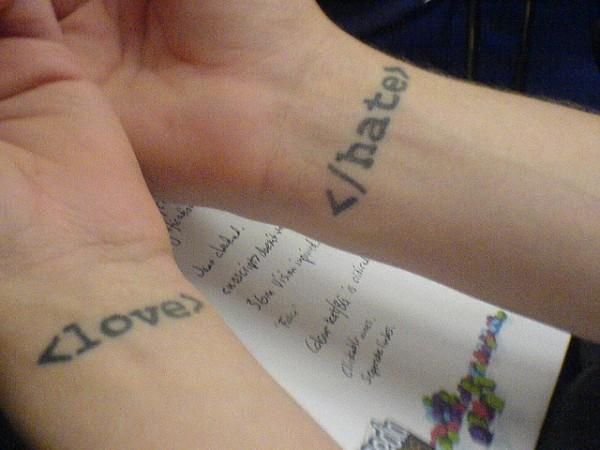 geek tattoos photo - 19