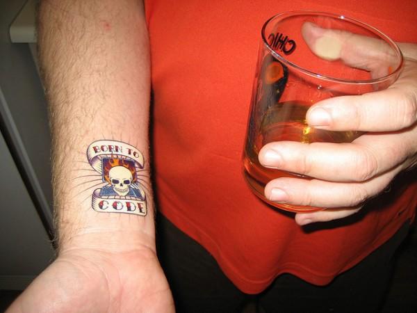 geek tattoos photo - 3
