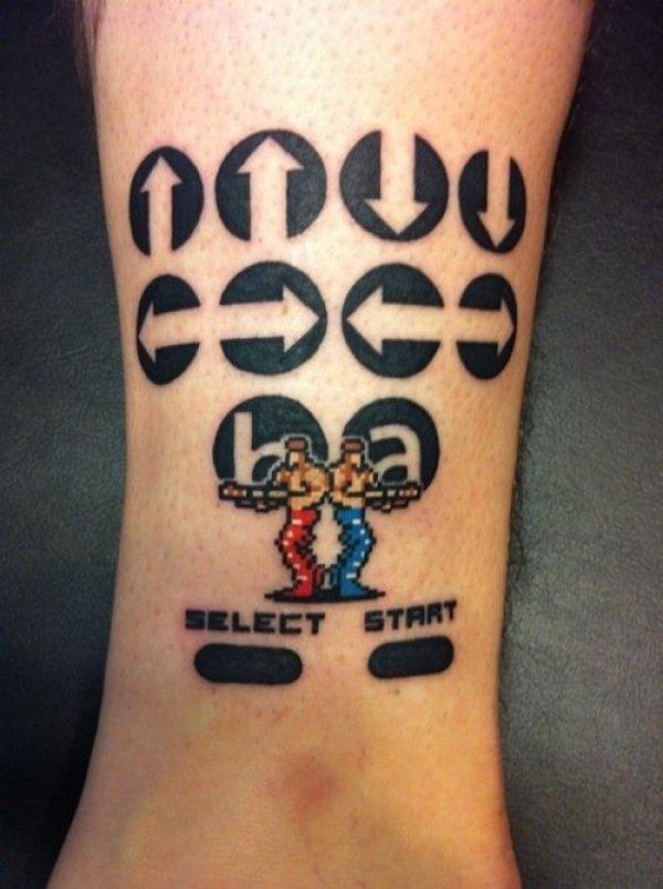geek tattoos photo - 30