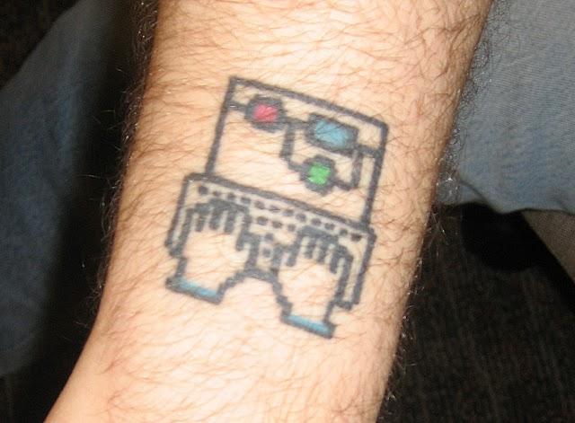 geek tattoos photo - 32