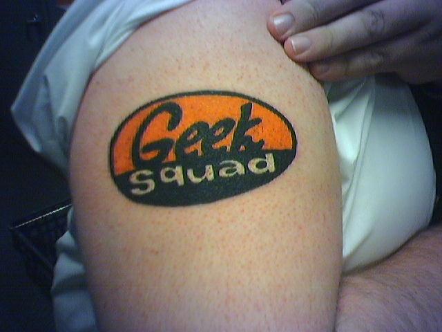 geek tattoos photo - 35
