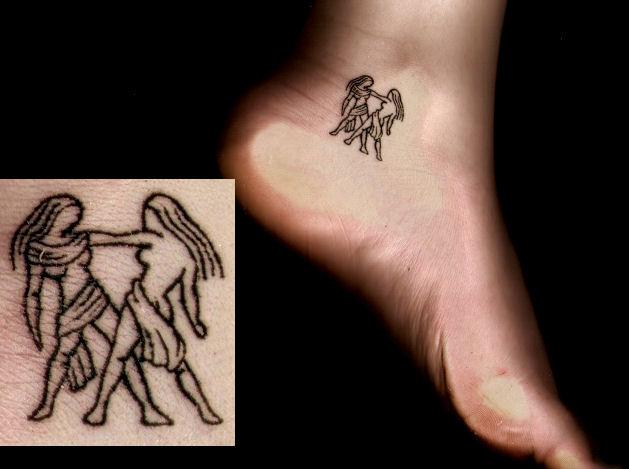 gemini tattoos photo - 14