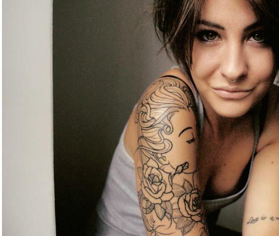 girl tattoos photo - 2