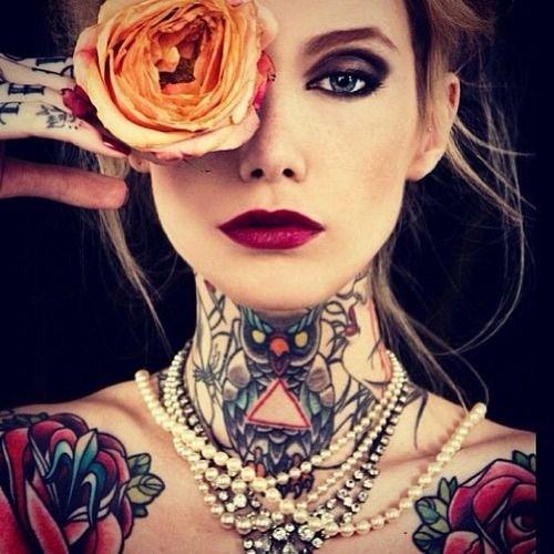 girl tattoos photo - 22