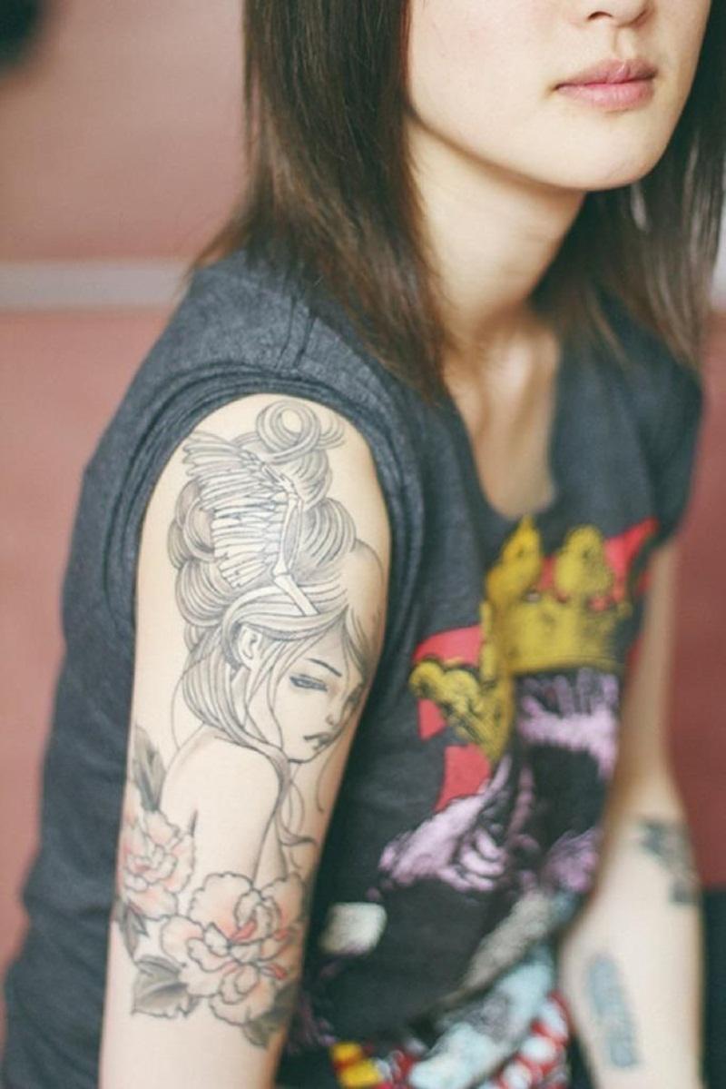 girl tattoos photo - 32