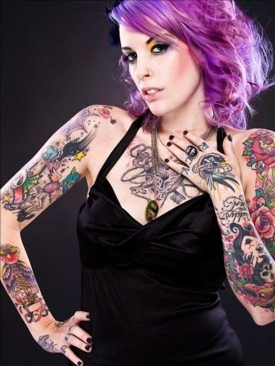 girl tattoos photo - 33
