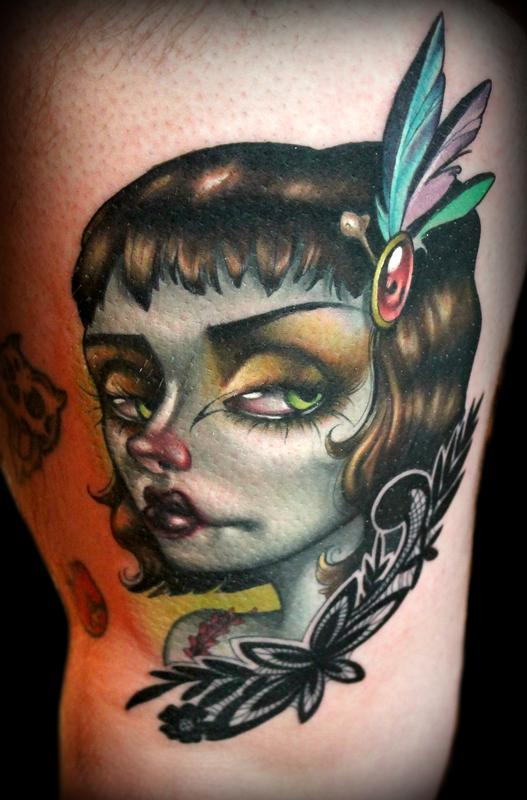 girl tattoos photo - 34