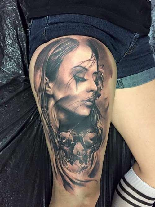 girl tattoos photo - 35