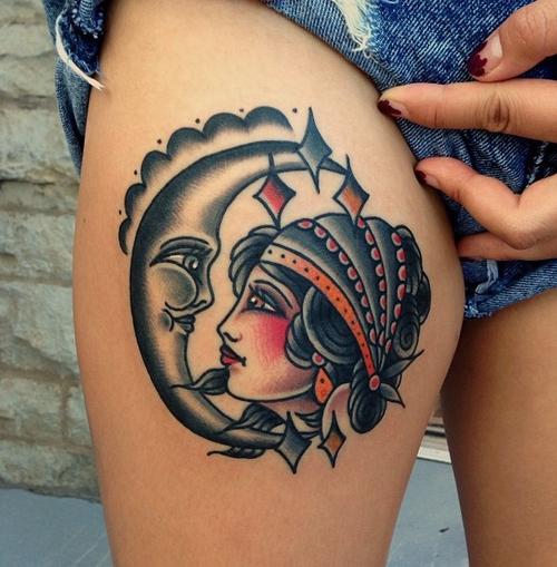 girl tattoos photo - 38