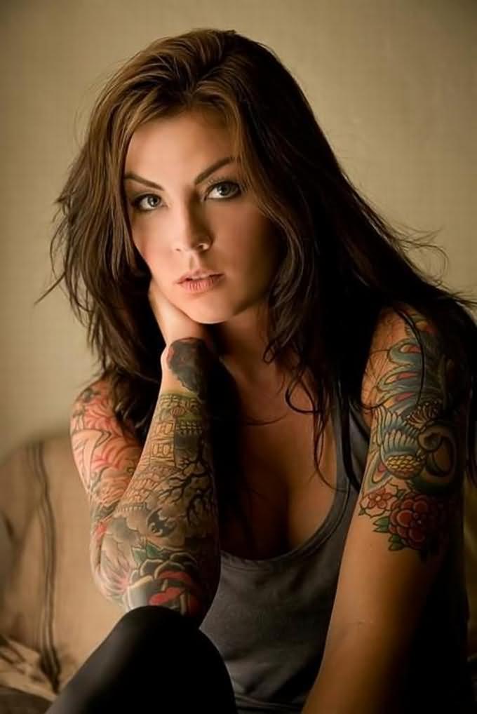 girl tattoos photo - 4