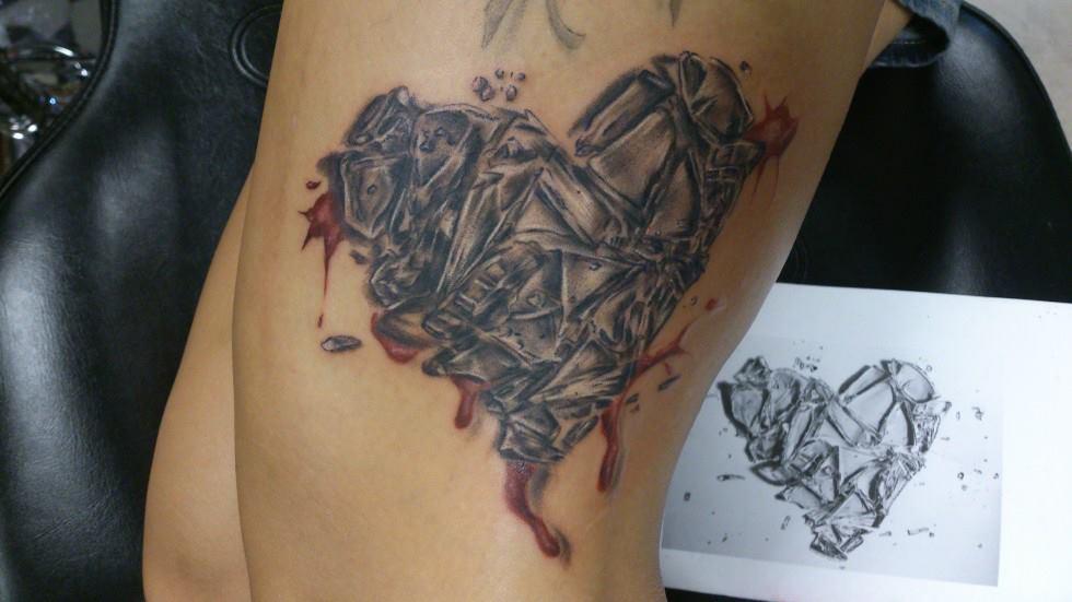 glass tattoos photo - 25