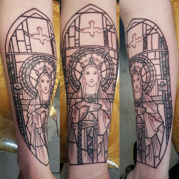 glass tattoos photo - 28