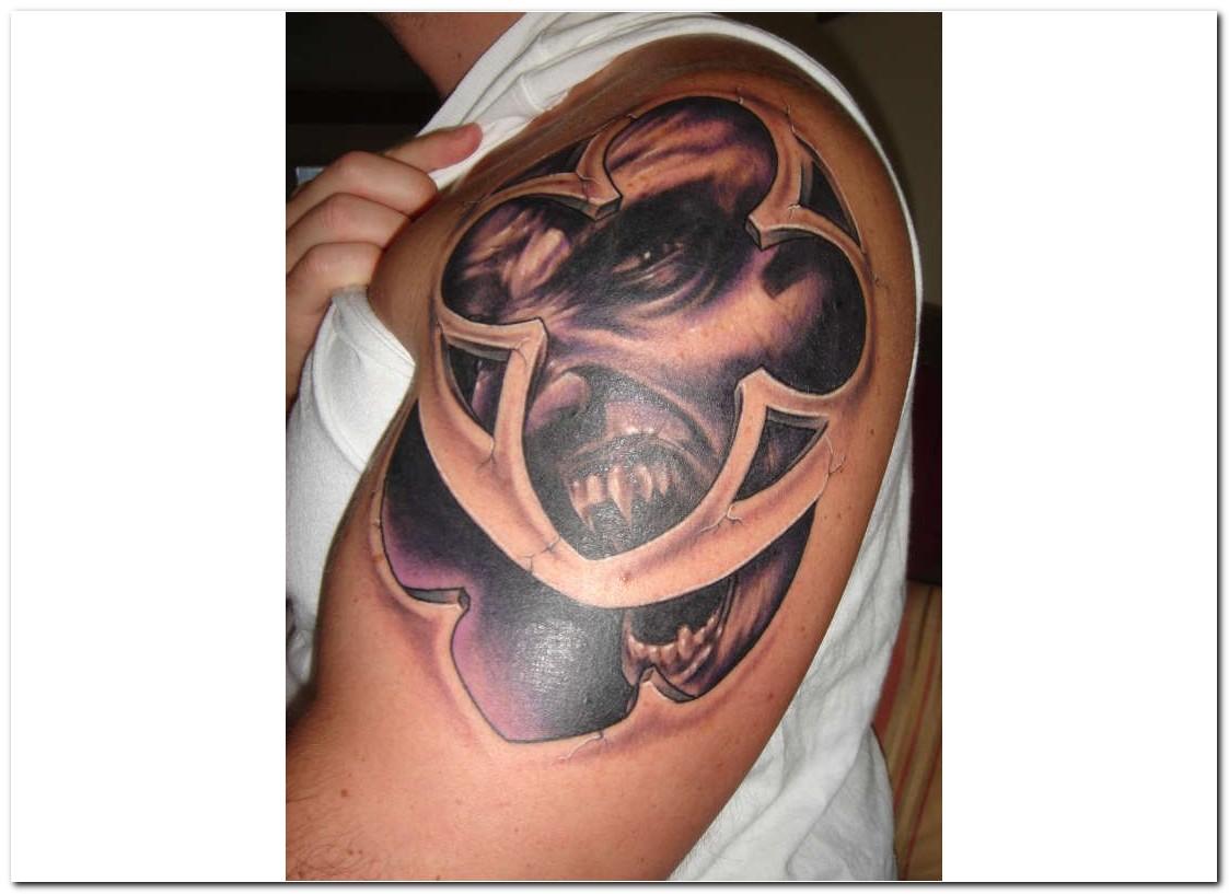 gothic tattoos photo - 22